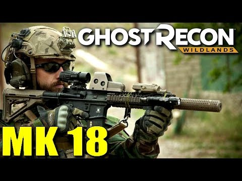 Ghost Recon Wildlands MK-18 vs 416
