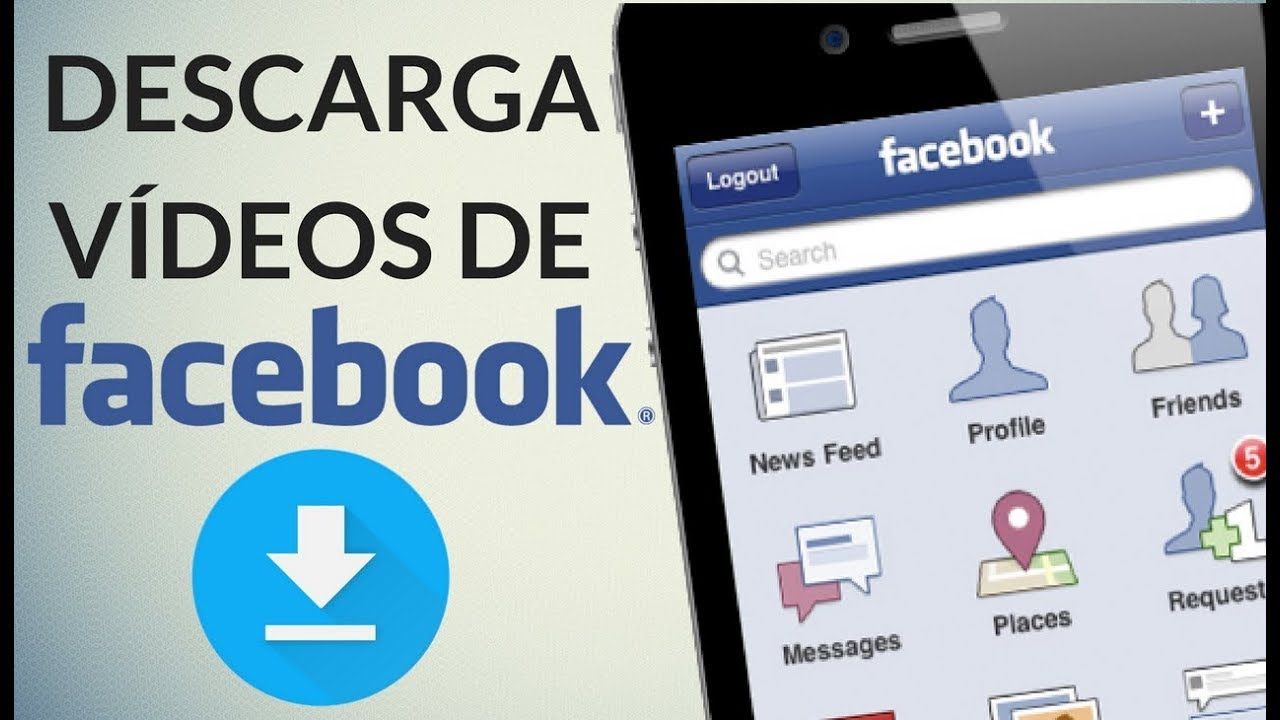 bajar videos de facebook iphone 8