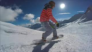 Завораживающее видео  сноуборд
