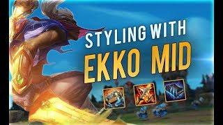 EKKO is just TOO STRONG | Preparing for Season 9