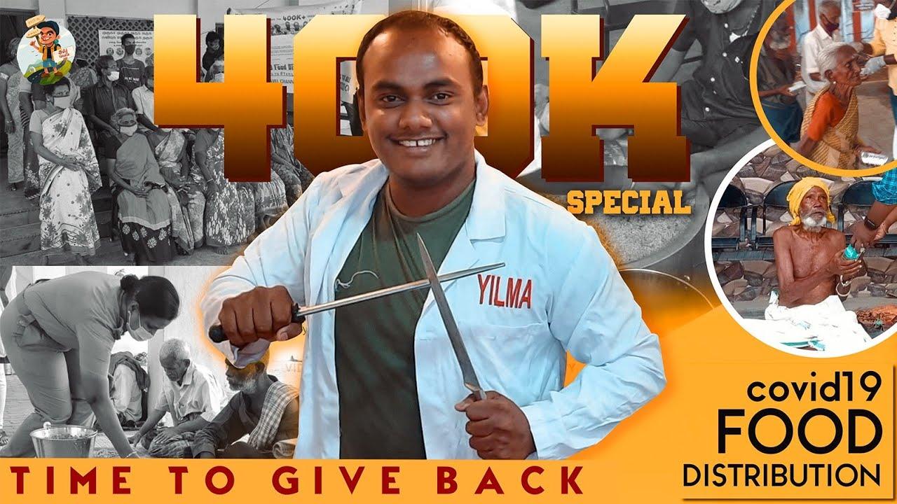 Food for 400 Homeless in Tirunelveli | Tamil Trekker