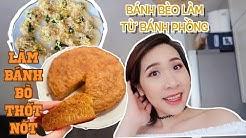 NKCL - Lâu lâu 'đẹp' lộng lẫy 🤣 - Trúc làm bánh bò nướng theo công thức chez N  ♡Truc's stories♡
