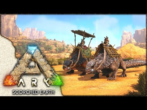 ARK: Scorched Earth ~ Ep 13 ~ Double Thorny Dragon Taming!