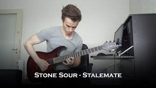 Stone Sour - Stalemate (Guitar Cover + Solo)