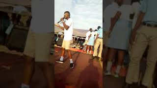 Yung Bizay performing at school's SRC week 1 :Niggas fool for the track