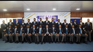 Sri Lanka Cricket team departs for Asia Cup 2018