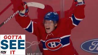 GOTTA SEE IT: Cole Caufield Scores OT Game-Winner As First Career NHL Goal