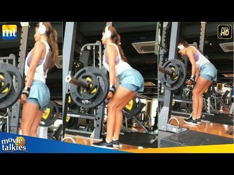 Disha Patani Flaunting Her Toned Body In Mini Shorts I Monday Motivation I Gym I Fitness Mp3