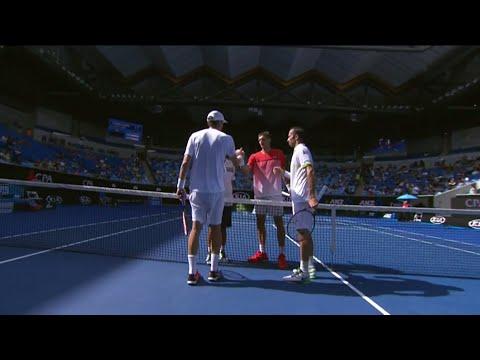 Nestor/Stepanek v Huey/Mirnyi highlights (QF) | Australian Open 2016