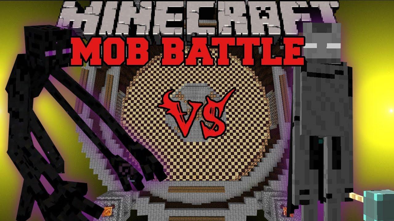 Mutant Enderman Vs Ender Lord Minecraft Mob Battles