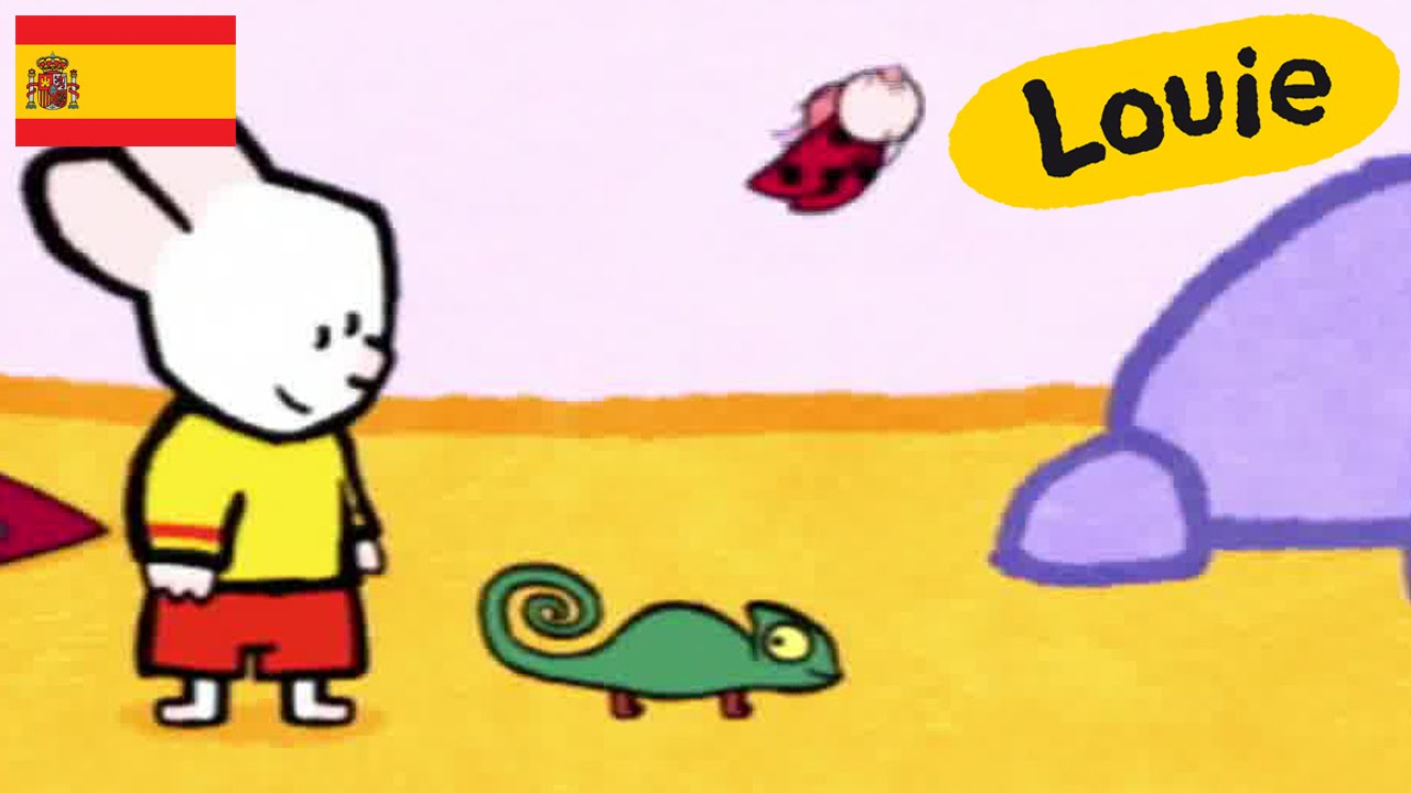 Camaleón Louie Dibujame Un Camaleón Dibujos Animados Para Niños
