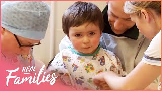 Cleft Palate Surgery To Help Little Boy Speak    Temple Street Children's Hospital   Real Families