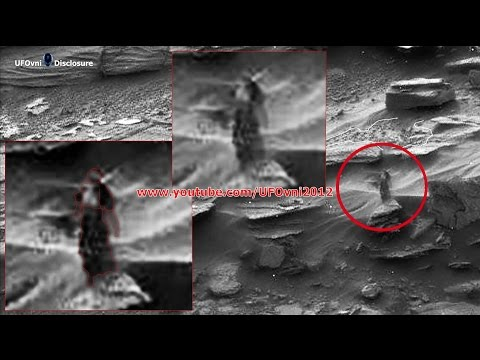 Alien hunters claim NASA image shows 'WOMAN standing on Mars acting as lookout'