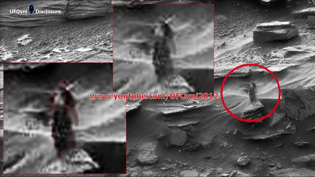 A Strange Woman Walking On Mars - YouTube