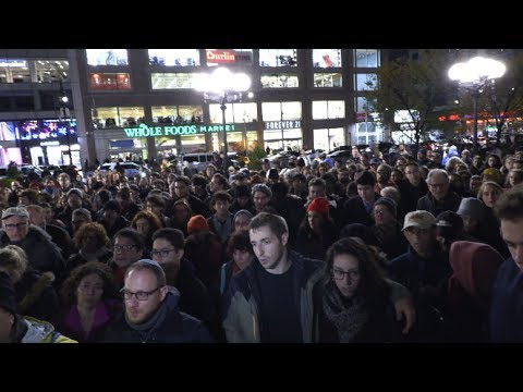 Mourner's Kaddish @ Union Square Vigil For #TreeOfLifeSynagogue Massacre 10/27/18 Mp3