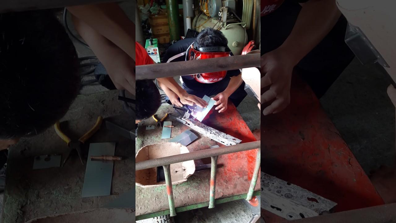 氣體微調氬焊機教學 - YouTube