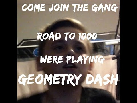 geometry dash level requests (face cam)