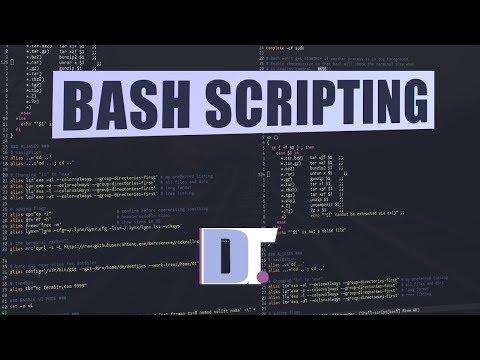 Bash Scripting - Variables, Arrays, If-Then-Else