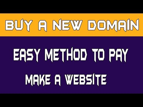 How do i register a domain name or buy a website domain