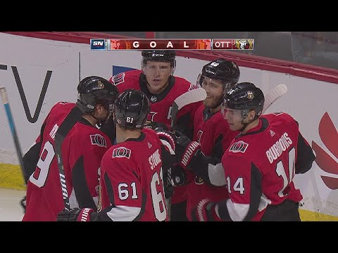 TOR@OTT: Hoffman grabs rebound, nets power-play goal