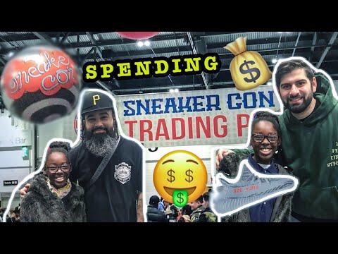 Sneakercon London – Meeting Two Js Kicks, Qias Omar buying Yeezys!!