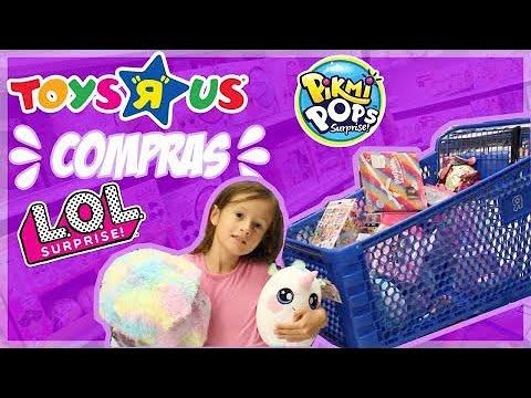 DE COMPRAS EN TOYS R US - TOY HAUL IN TOYS R US // Lunaventuras