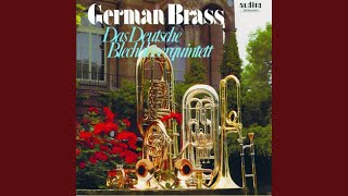 Amerikanische Suite für Blechbläser Nr. 1: Ragtime - Bossa Nova - Vals Peruano - Zamba Gaucha...