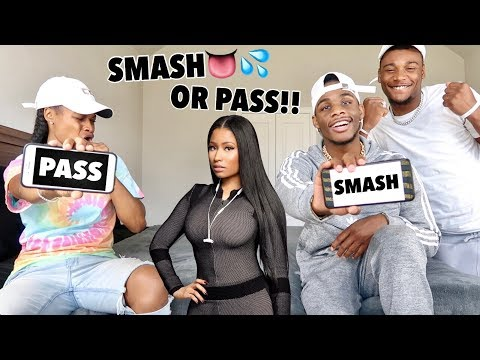 EXTREME SMASH OR PASS CHALLENGE WITH AR'MON AND TREY!!!
