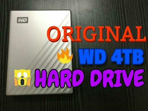 #WD #4TBHardDrive #MyPassport #4TBHardDisk | Western Digital 4 Tb hard disk |