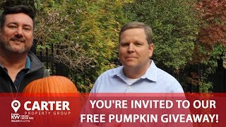 You're Invited to Our Free Pumpkin Giveaway!