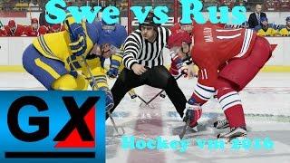 Sverige vs Ryssland - Hockey vm 2016