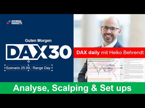 DAX aktuell: Analyse, Trading-Ideen & Scalping | DAX30 | CFD Trading | DAX Analyse | 25.09.2020