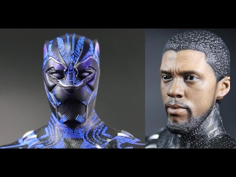 [Unboxing] Hot Toys- Black Panther. Black Panther. 1/6th scale Collectible Figure