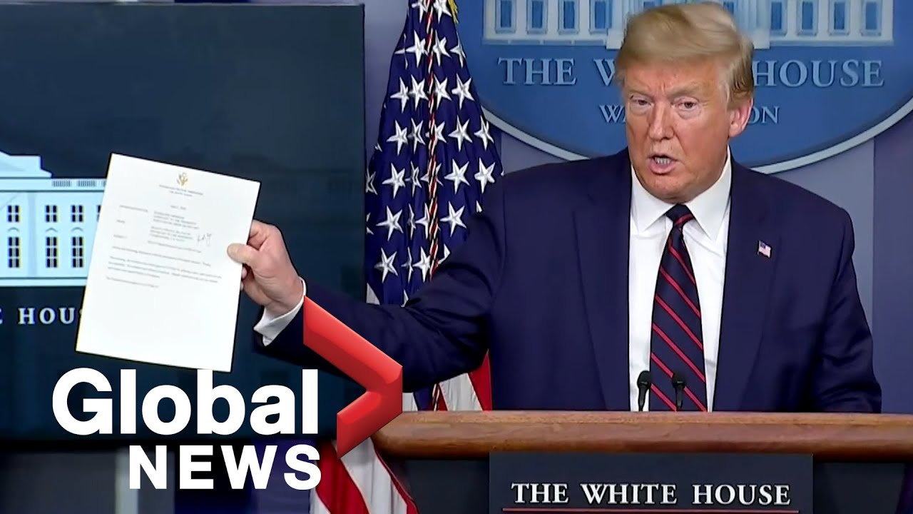 Coronavirus outbreak: Trump says he tested negative on 2nd COVID-19 test | FULL