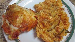 Kurczak z ryżem -  pyszne danie dla leniwych