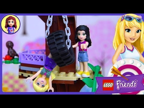 Lego Friends Adventure Camp Tree House Set Build  Play  Kids Toys