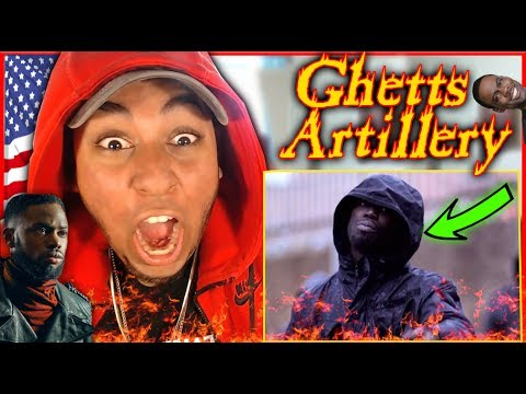 AMERICAN FIRST REACTION TO Ghetts - Artillery (Official Video) REACTION (UK Grime chip get like that