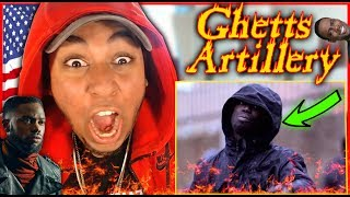 MOST ANGRIEST SONG! Ghetts - Artillery (Official Video) REACTION (UK Grime / Rap / Trap / Drill )