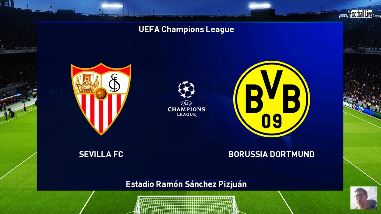 UEFA Champions League: Sevilla vs Dortmund