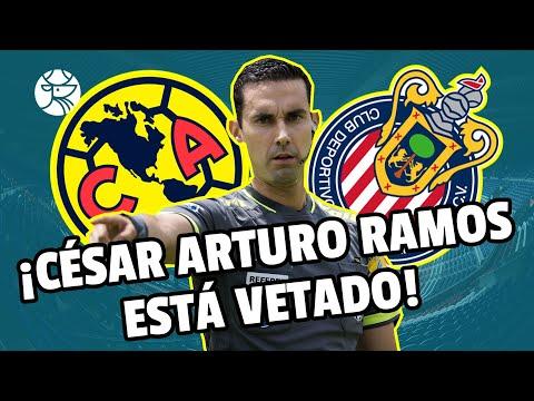 ¡INCREÍBLE! | La Comisión de Árbitros no deja a César Arturo Ramos arbitrearle al América