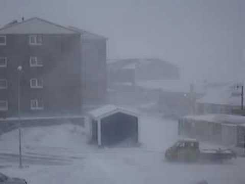 Storm in Nuuk