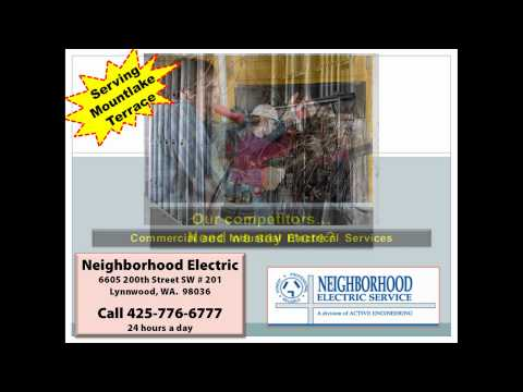 Electrician In Mountlake Terrace WA | 425-776-6777 | Electrical Contractors Mountlake Terrace