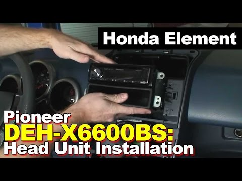 Honda Element Stereo Radio Head Unit