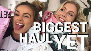 OUR BIGGEST HAUL YET | MISSGUIDED, PLT, ITS, BOOHOO, CUPSHE, ROMWE | SYD AND ELL