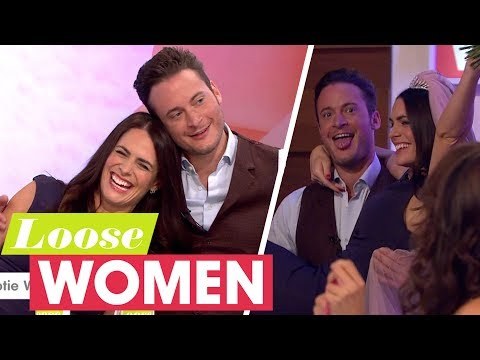 Gary Lucy and Susie Amy Recreate the Famous Footballers' Wives Wedding | Loose Women