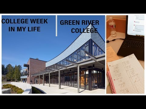 College Week In My Life at Green River College| Vlog