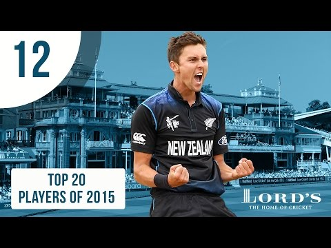 12) Trent Boult   Top 20 Players of 2015
