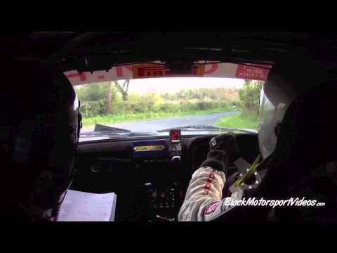 Daniel McKenna & Stephen Hagan  Monaghan Stages Rally 2014  Stage 7