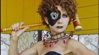 Victorian Steam Punk Makeup. Maquiagem Steampunk.