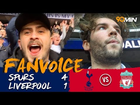 Tottenham 41 Liverpool  Kane double destroys Liverpool's shaky defence 41  Voice